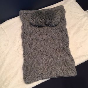 Cow neck scarf